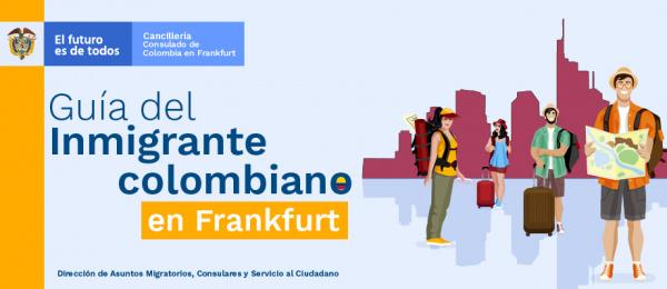 Guía del inmigrante colombiano en Frankfurt
